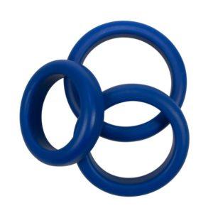 3-teiliges Penisringe Set »Blue Mate«