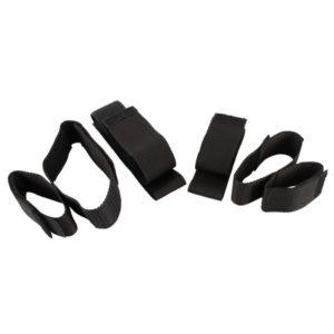 4-teiliges Fessel-Set »Bad Kitty Arm & Leg Restraints« mit Klettverschluss