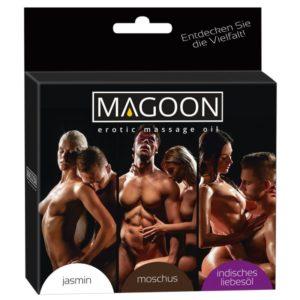 3er-Set Massageöl »Magoon«