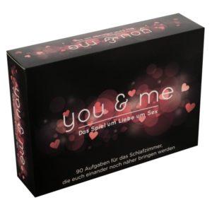 Kartenspiel »you & me« für Paare