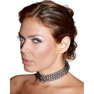 Halsfessel aus Metallketten