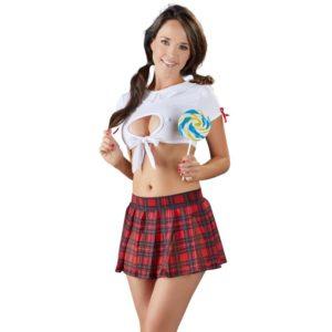 2-teiliges Schulmädchen-Kostüm