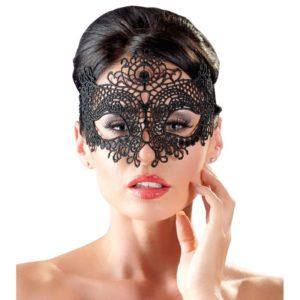 Augenmaske aus filigraner Stickerei