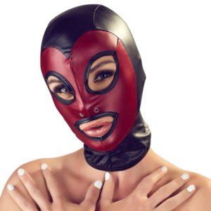 Kopfmaske im elastischen
